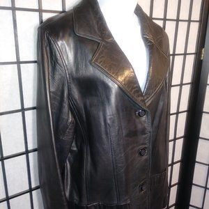 Territory Ahead Soft leather jacket size 14